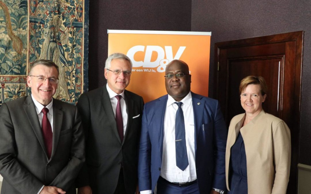 Ontmoeting met vermoedelijke presidentskandidaat Tshisekedi: Congo rekent op ons!