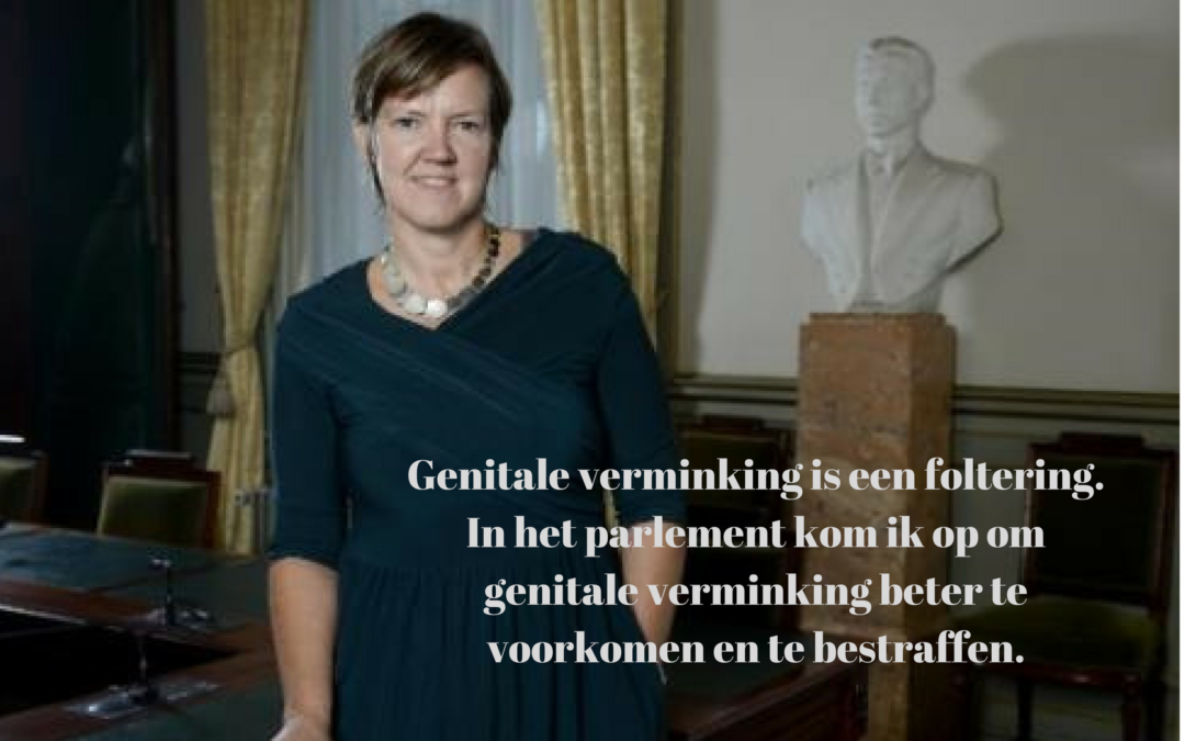 Dat Belgische artsen genitale verminking zouden uitvoeren, is onaanvaardbaar.