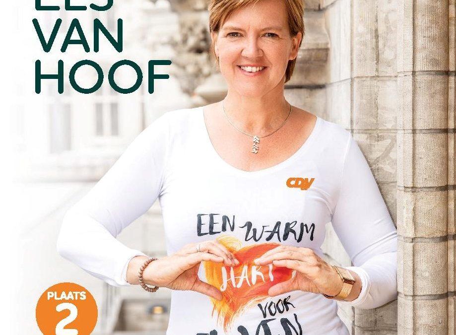 Els Van Hoof heeft een warm hart voor Leuven